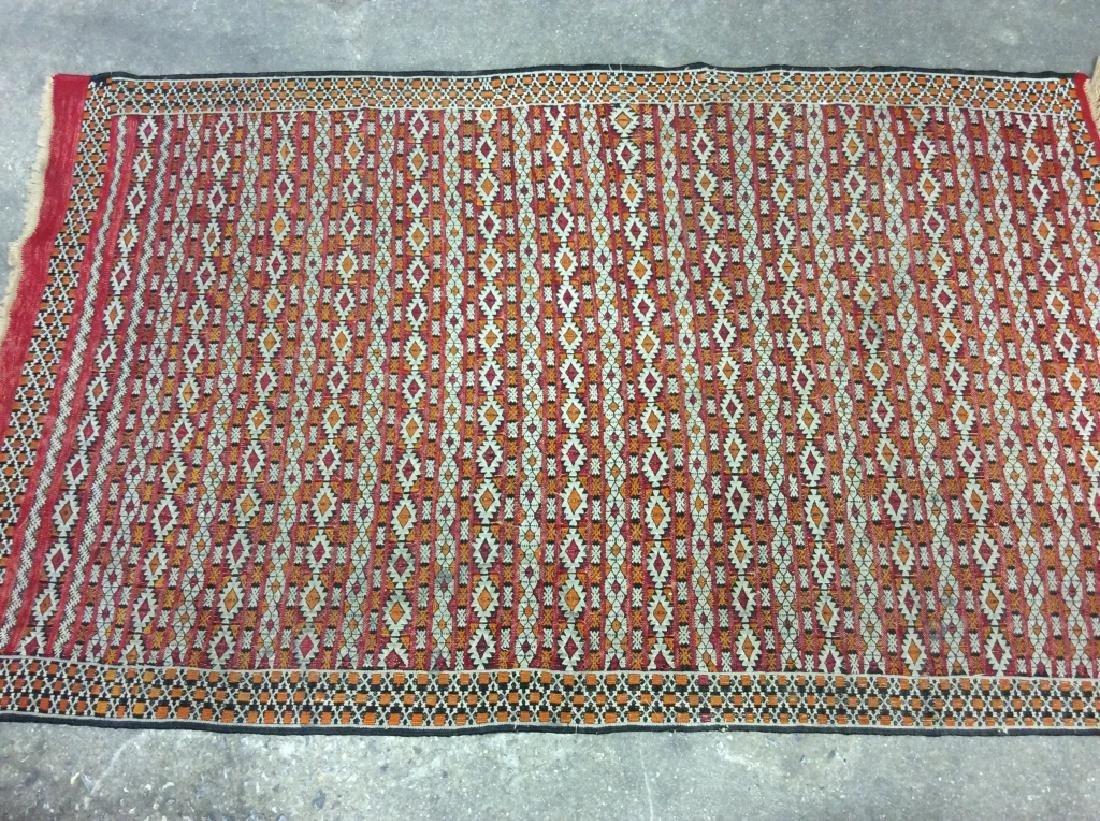 Vintage Handmade Oriental Rug Carpet - 3