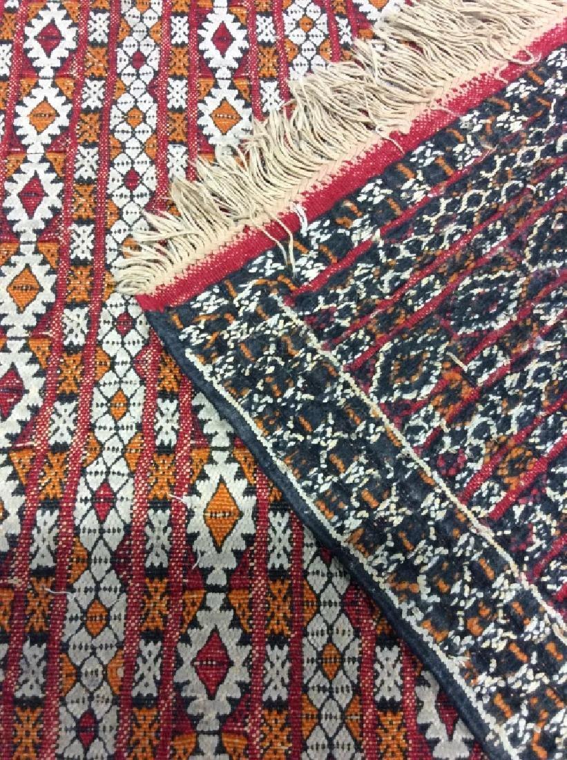 Vintage Handmade Oriental Rug Carpet - 5
