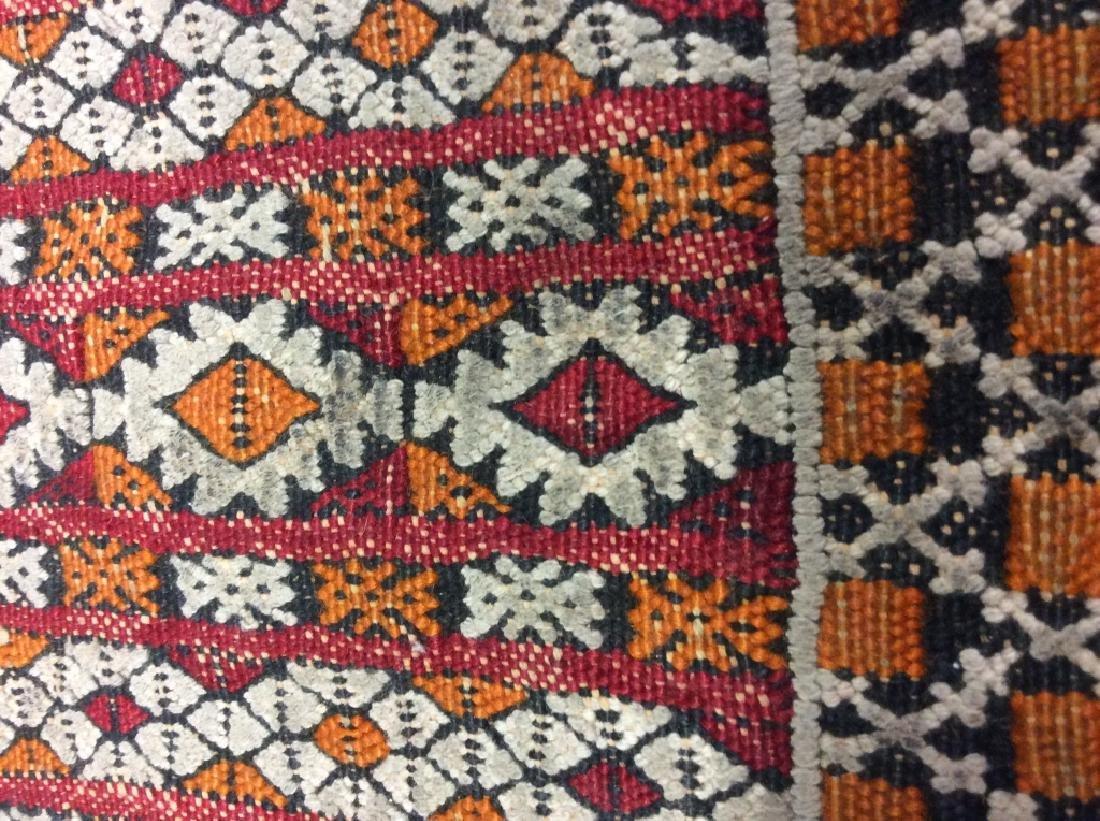 Vintage Handmade Oriental Rug Carpet - 6