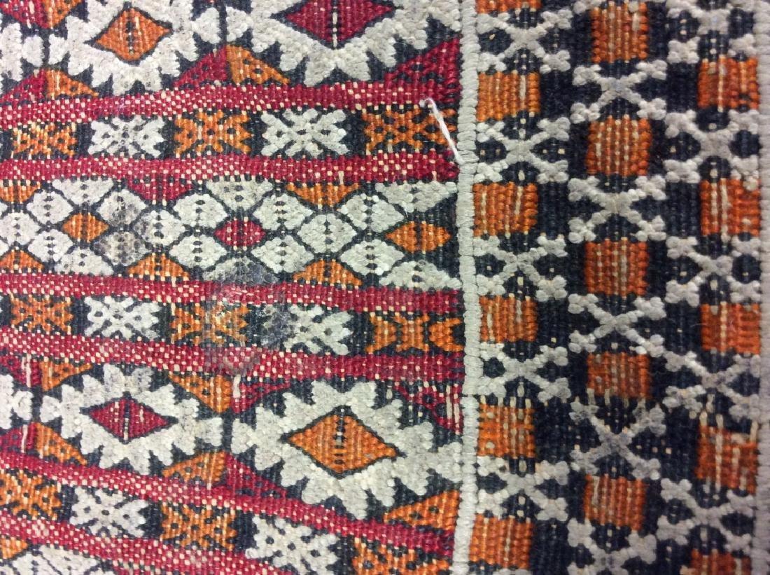 Vintage Handmade Oriental Rug Carpet - 7