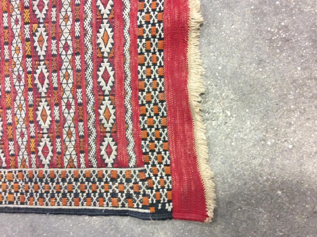 Vintage Handmade Oriental Rug Carpet - 8