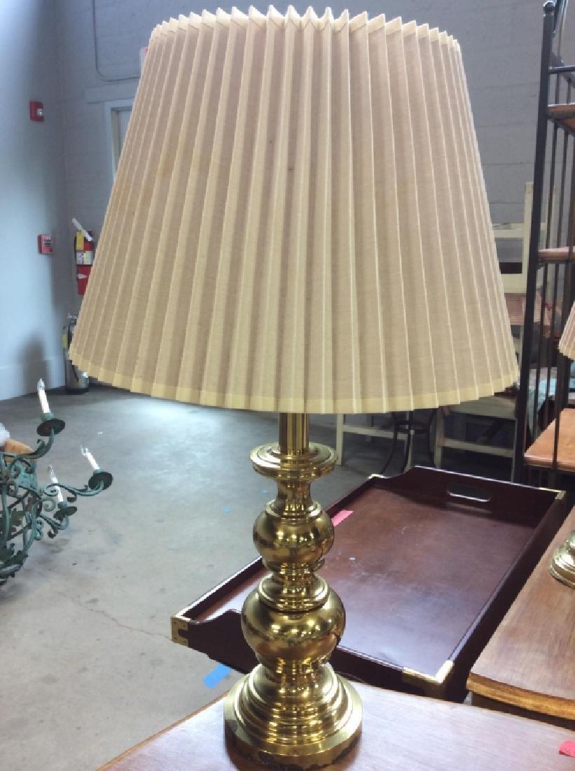 Stiffel Gold Toned Brass Table Lamp