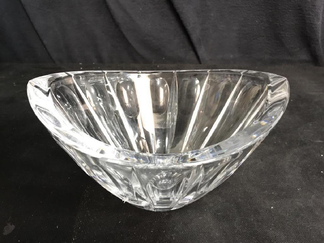 Heavy Cut Crystal LENOX Crystal Bowl - 3
