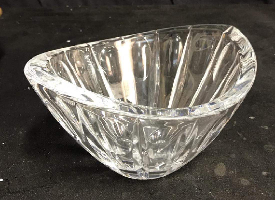 Heavy Cut Crystal LENOX Crystal Bowl - 4