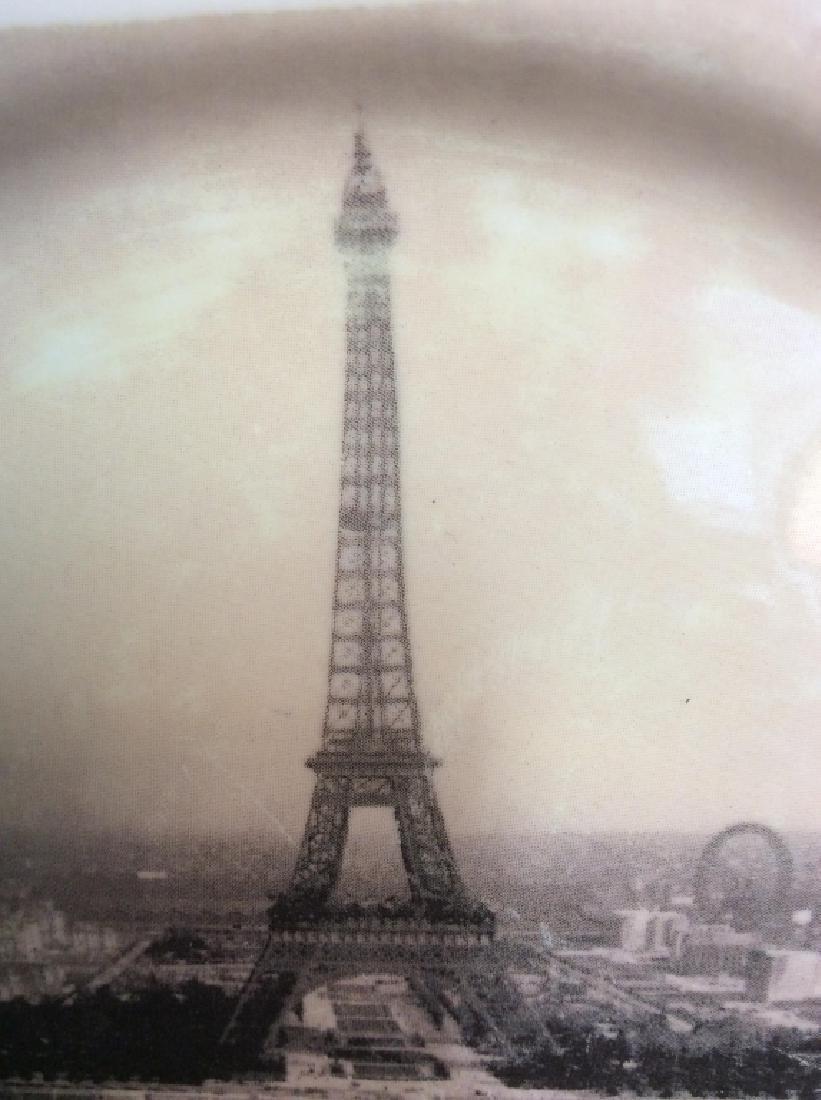 Set 8 ROSANNA Eiffel Tower Plates - 7