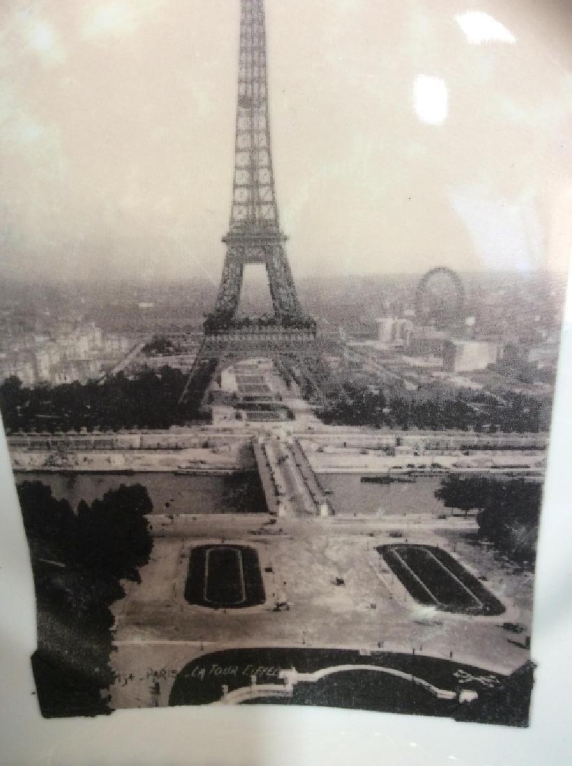 Set 8 ROSANNA Eiffel Tower Plates - 8