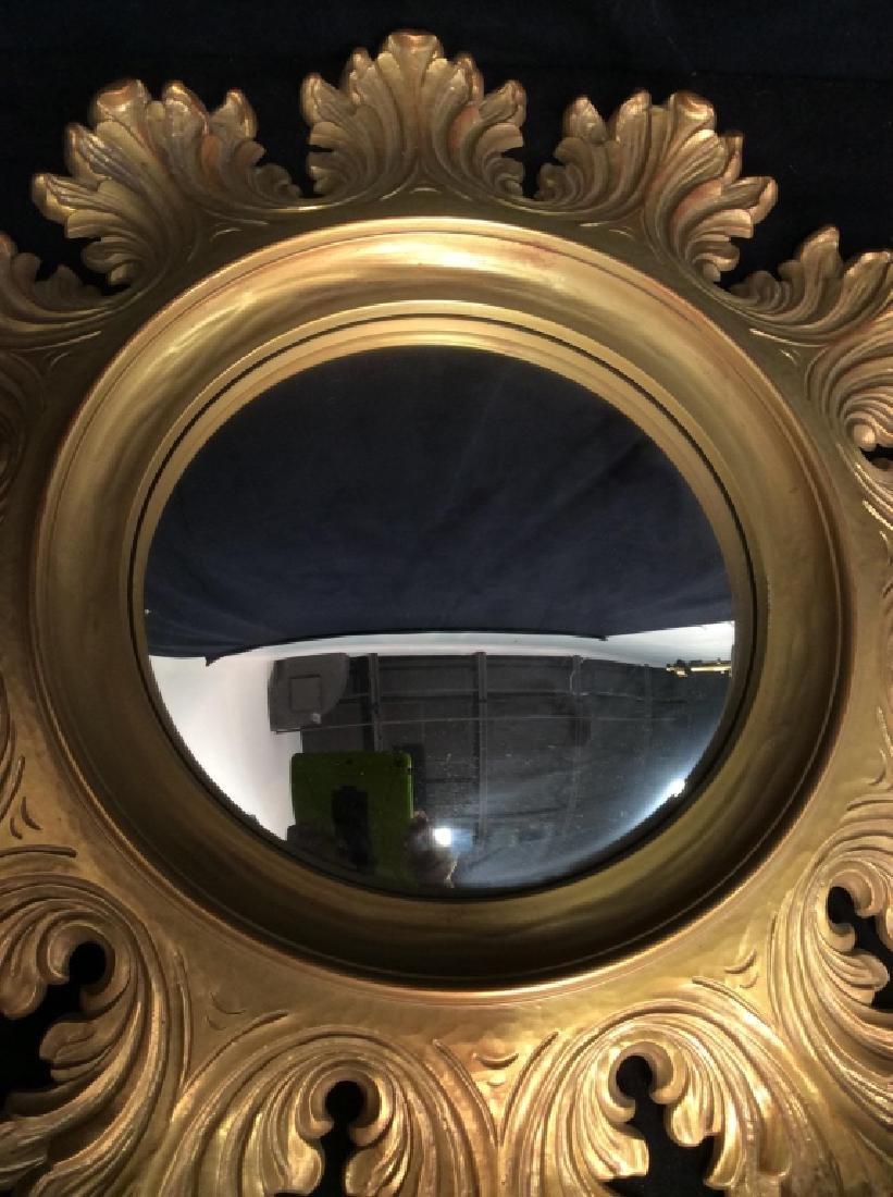 Circular Composite Suburst Wall Mirror - 3