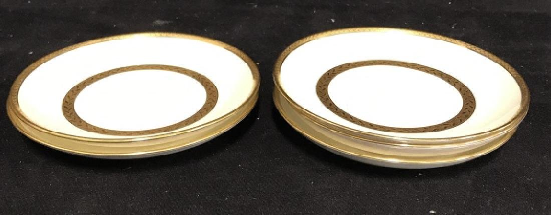 Set 5 Mintons England Porcelain Tea Cup Saucers - 2