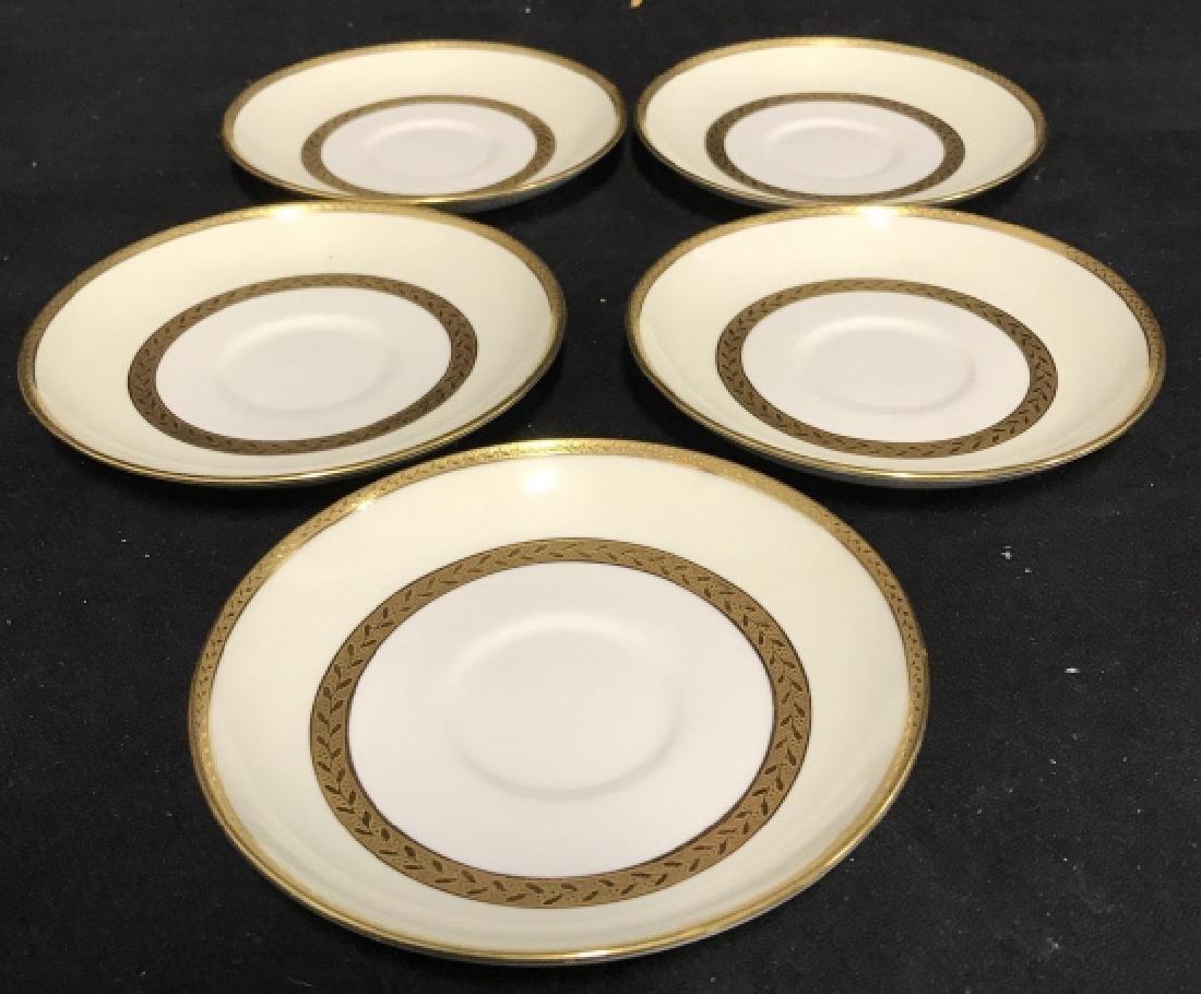 Set 5 Mintons England Porcelain Tea Cup Saucers - 3
