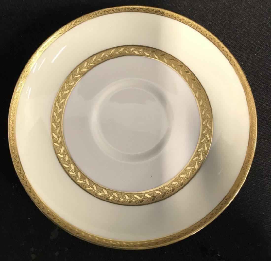Set 5 Mintons England Porcelain Tea Cup Saucers - 4