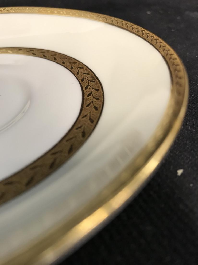 Set 5 Mintons England Porcelain Tea Cup Saucers - 5