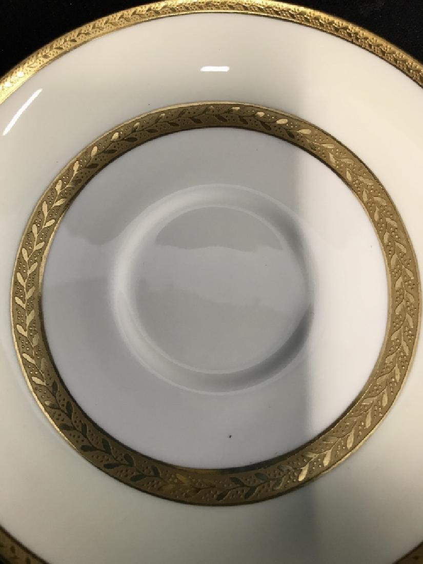 Set 5 Mintons England Porcelain Tea Cup Saucers - 6
