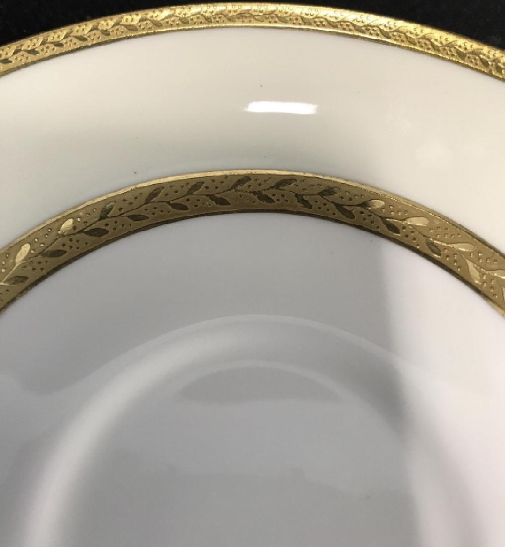 Set 5 Mintons England Porcelain Tea Cup Saucers - 7