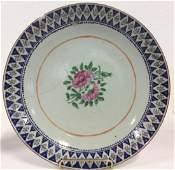 Stoneware Ceramic Oriental Style Centerpiece