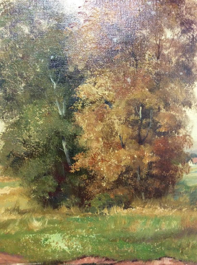 R Krotter Signed c1890s Dutch Landscape Painting - 3