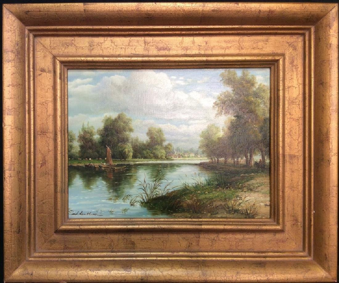 Signed/Framed Landscape Painting