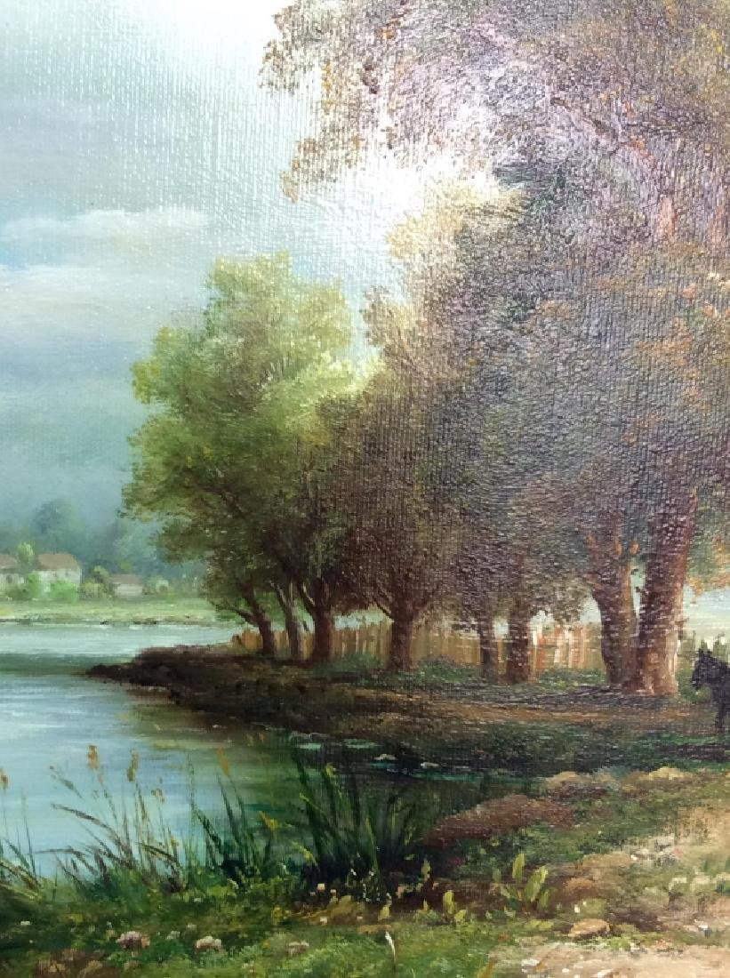 Signed/Framed Landscape Painting - 5