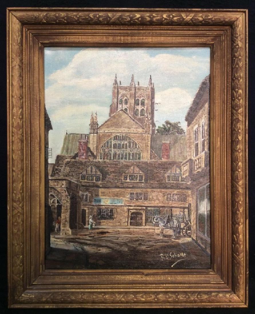 R.D. Schorle Street Painting