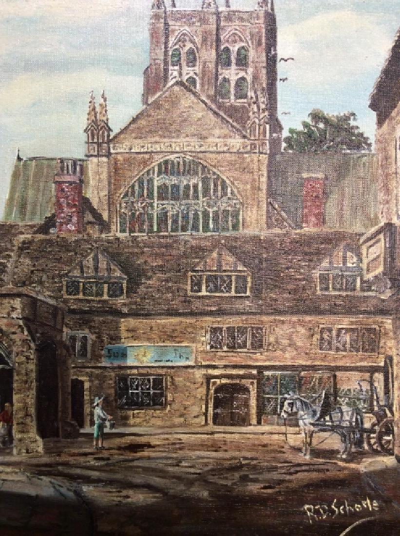 R.D. Schorle Street Painting - 2