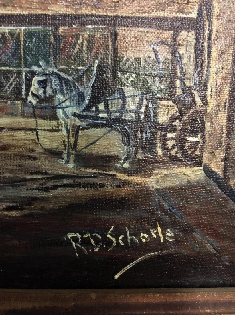 R.D. Schorle Street Painting - 4
