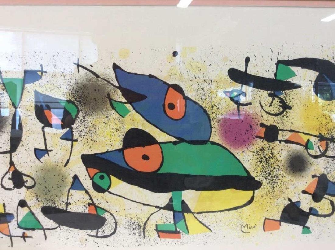 Joan Miró Framed Matted Art  Print