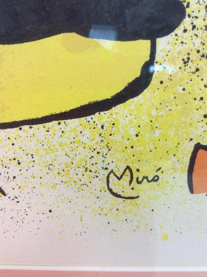 Joan Miró Framed Matted Art  Print - 4