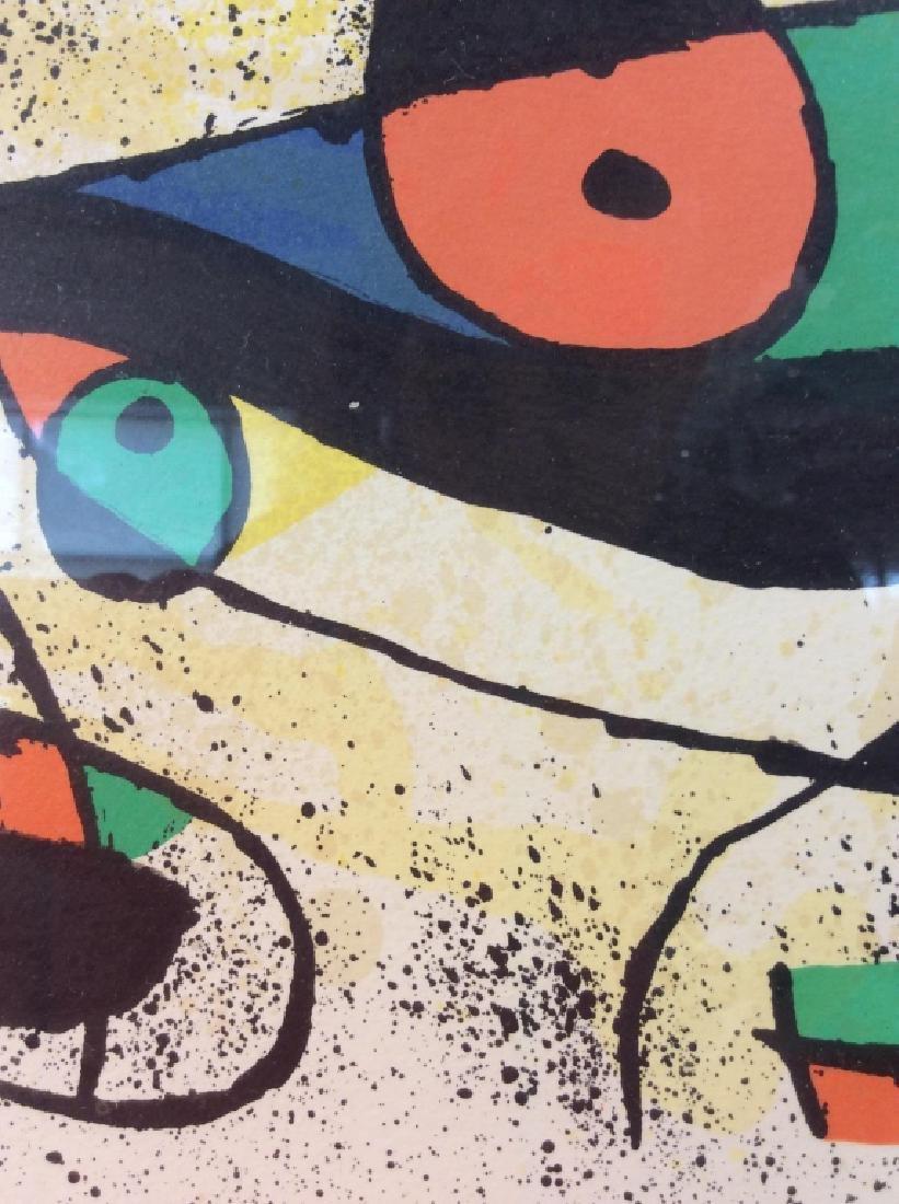 Joan Miró Framed Matted Art  Print - 5
