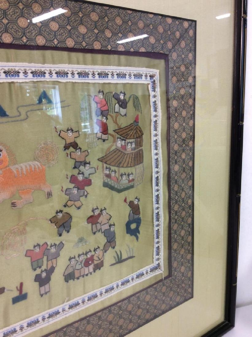 Oriental Embroidered Artwork - 7