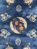 Handmade Chinese Art Deco Wool Pile Rug