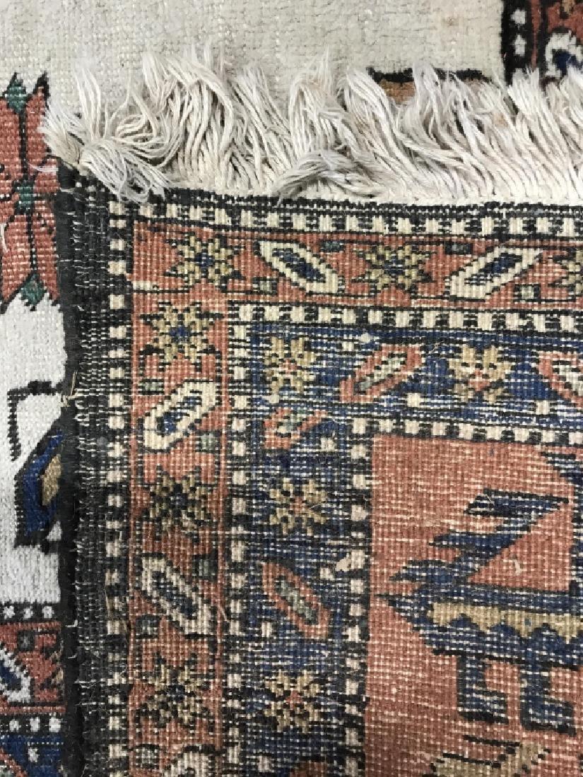 Vintage Handmade Oversized Wool Rug - 8