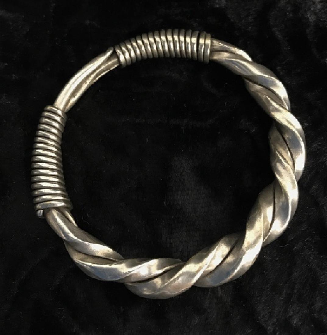 Antique Hmong Tribal Bracelet - 2