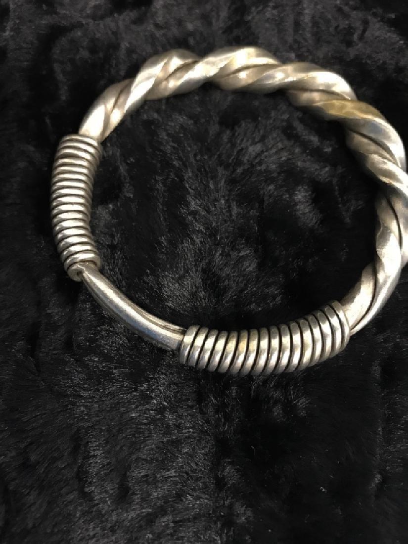Antique Hmong Tribal Bracelet - 3