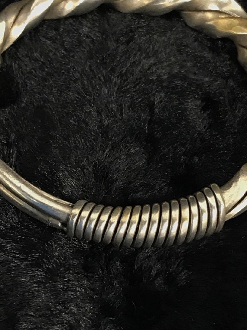 Antique Hmong Tribal Bracelet - 4