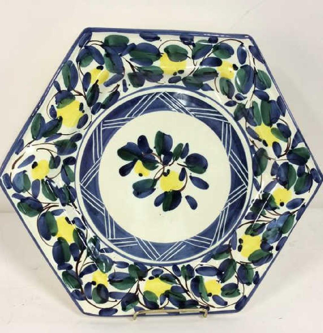 Set 4 RAMPINI RADDA Signed Ceramic Plates - 3