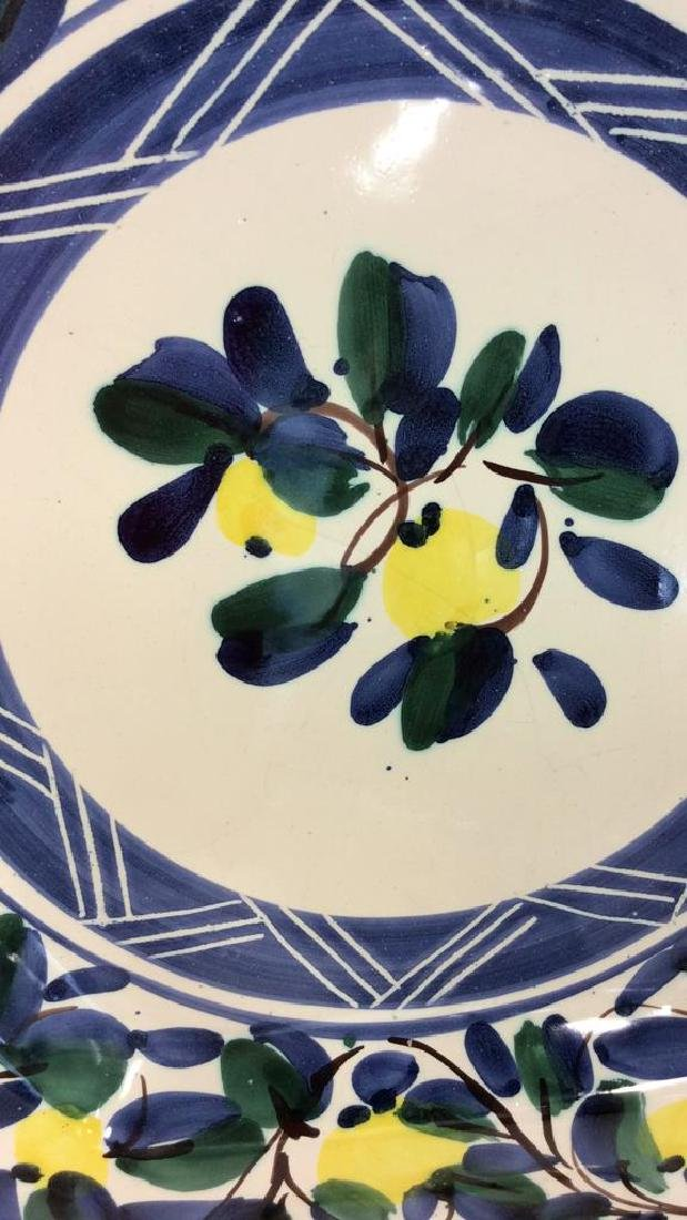 Set 4 RAMPINI RADDA Signed Ceramic Plates - 4