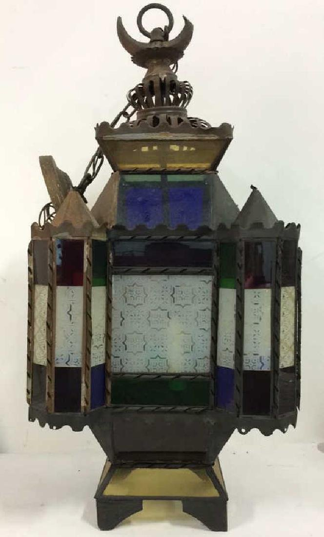 Stained Glass Ornate Architecture Inspired Light
