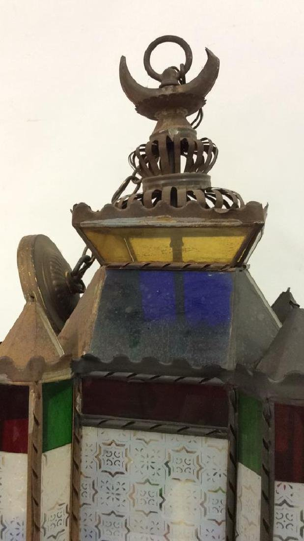 Stained Glass Ornate Architecture Inspired Light - 3