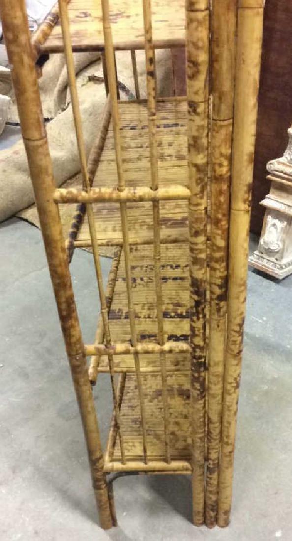 Faux Bamboo or Bamboo Display Shelf - 10