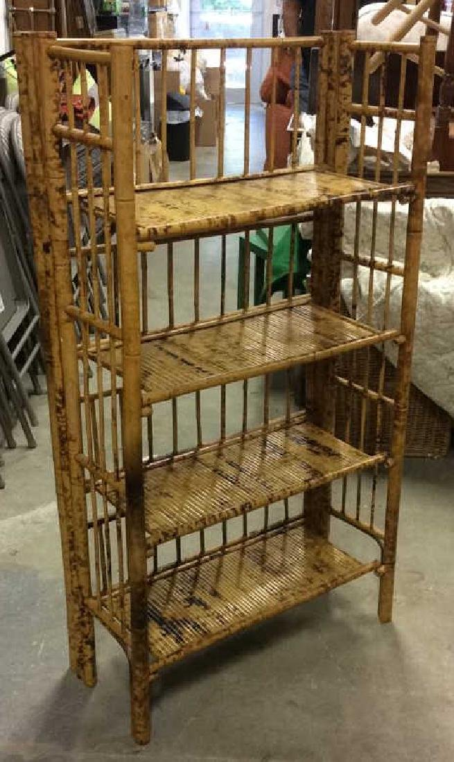 Faux Bamboo or Bamboo Display Shelf