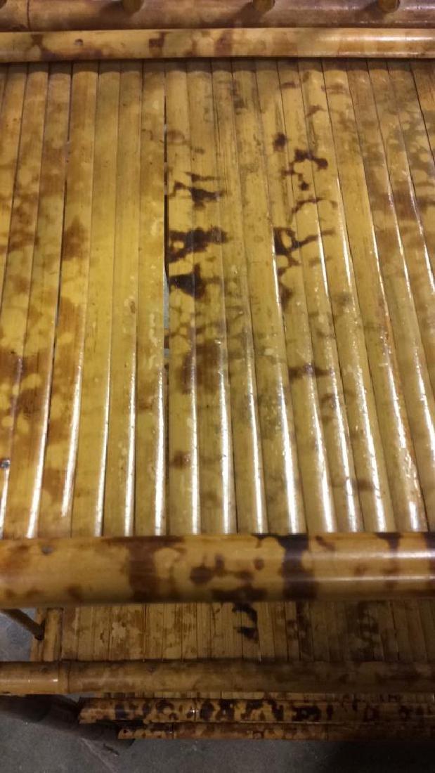 Faux Bamboo or Bamboo Display Shelf - 4