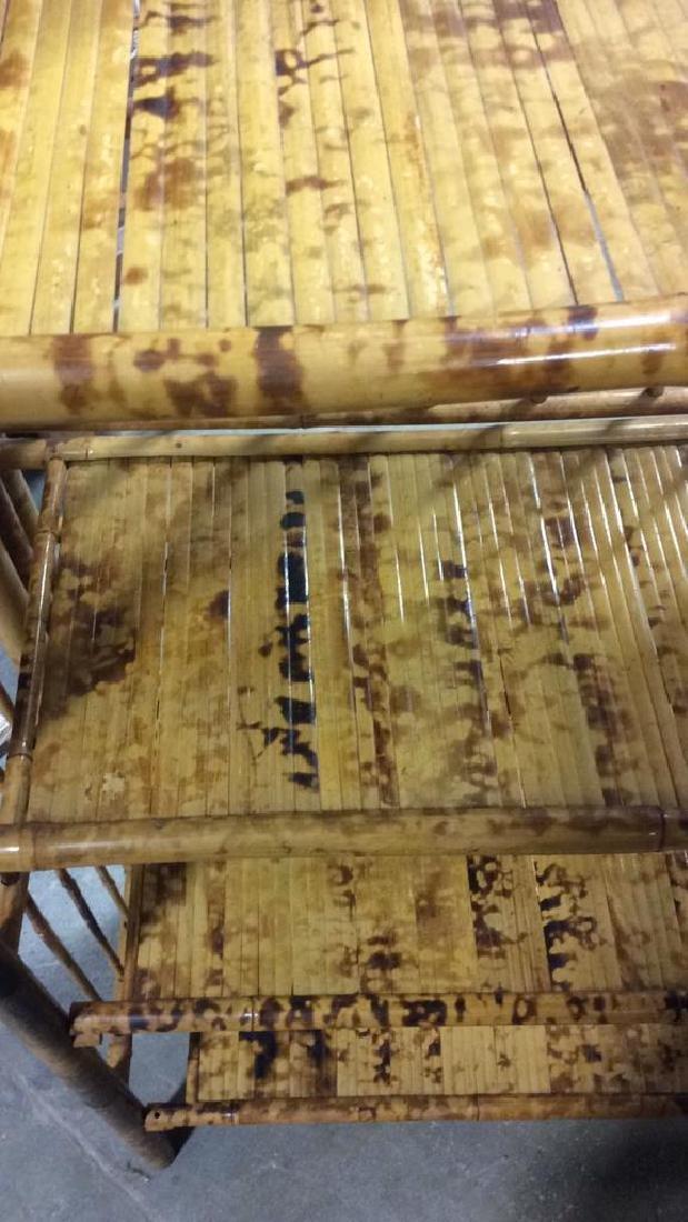 Faux Bamboo or Bamboo Display Shelf - 5
