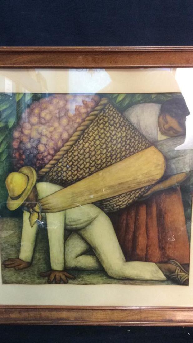 Diego Rivera 1935 Print Art - 2