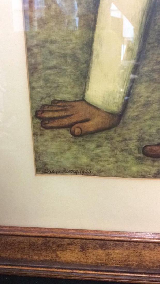 Diego Rivera 1935 Print Art - 5