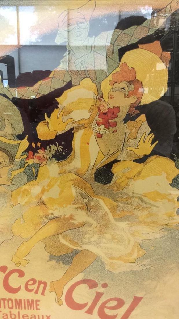 Vintage Folies-Bergere Poster Print Artwork