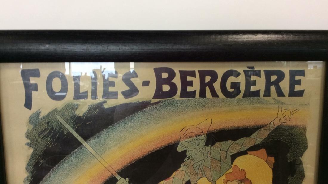 Vintage Folies-Bergere Poster Print Artwork - 2