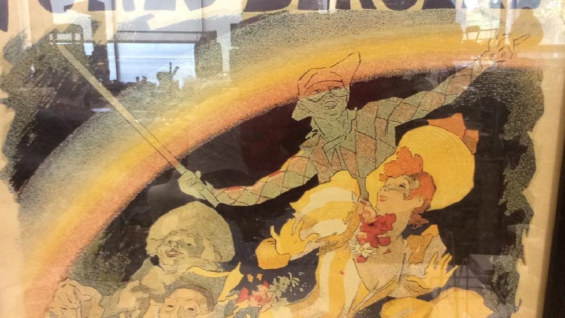 Vintage Folies-Bergere Poster Print Artwork - 3