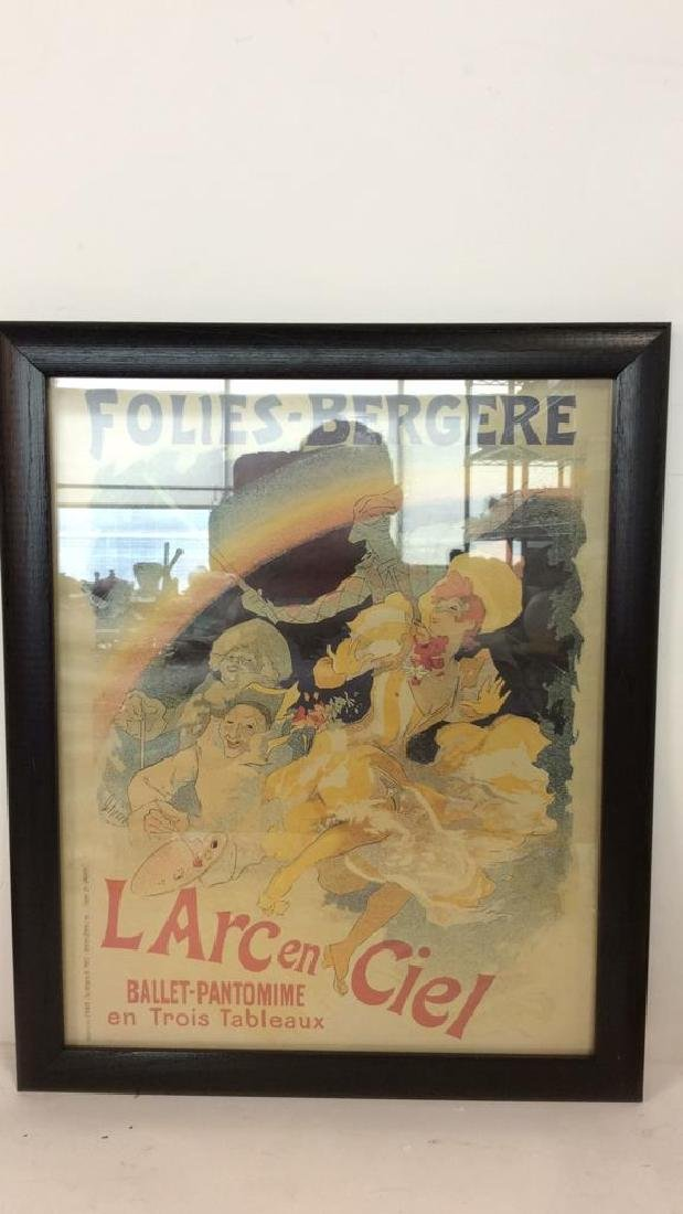 Vintage Folies-Bergere Poster Print Artwork - 8