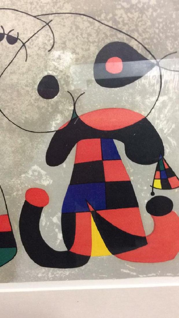 Joan Miró Mixed Media Print 'Sur Quatre Murs' - 9