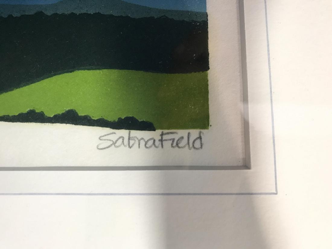 Valley Of The White River: Sabra Field Framed Art - 4