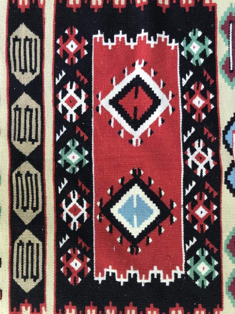 Aztec Print Colorful Woven Area Rug - 3